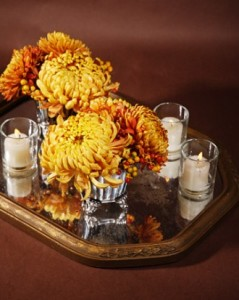 fall centerpiece from Martha